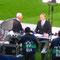 Noch schnell ein Interview mit Hr. Beckenbauer.