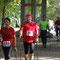 12 km Tour, nach der Versorgung im Stadtpark