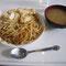東京の芸大にて。豆腐のバター焼き丼。先生にお勧めされてたので食べました。美味しかったですよ。