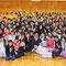 「和のテイスト」コースも記念撮影。連続しての受講生も多くありました。