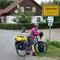 für uns Schluss auf dem Donauradweg: Sigmaringen