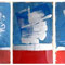 Math-Myth-Move (triptych)    3x79x57cm   signed 1979   acrylic, lacquer on paper    €   1.050