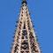 Restaurierung Turmspitze Ende 2017 fast fertig