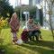 Manschaftsfoto mit meinen Cousinen: Anouk & Elena