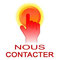 clic vers page contact