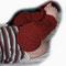 Wollstulpen für windelfreie Kinder, einfache Länge