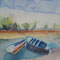 fisher boats Mauritius 13 x 18 cm