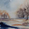 End of winter 24 x 32 cm