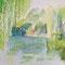 Monets Garten 30 x 40 cm