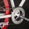 Bici a scatto fisso con guarnitura Lasco Original Single speed