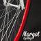 Bici fixed Bullhorn. Cerchio da 43 mm in rosso