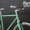 Fixed bike Tiffany taglio del prospetto anteriore