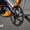 Bici single speed guarnitura LAMPO