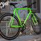 Bicicletta fissa Dragonfly fotografata con luce pomeridiana