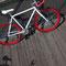 Prospettiva dall'alto di bicicletta fissa Bullhorn
