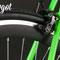 Particolare cerchio e pista frenante fresata della fixed bike Dragonfly