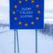 europäischer Grenzübergang - mitten im nirgendwo -