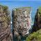 Nadelfelsen - Vogelinsel Handa - Schottland 2015