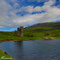Loch Assynt mit Ardvreck Castle - Schottland 2015