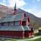 aktuelle Kirche in Borgund