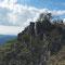 お花畑近くからの日本岩方面の眺め(2013年9月撮影)