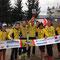 meine Triathlon Kollegen in Gelb!