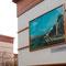Kunstrepros an Gebäuden, Bergmannsfeld, Essen-Steele