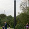 Rita McBride *1960, Carbon Obelisk, 2000, Emscherpark, Essen-Karnap