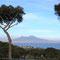 Blick vom Posillipo zum Vesuvio