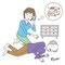 介護の手続きに関するムック本の挿絵3