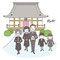 葬儀のマナーや手続きに関するムック本の挿絵2