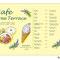 Cafeの看板の挿絵・デザイン