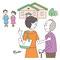 介護の手続きに関するムック本の挿絵2