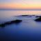 Il mare di Campese al crepuscolo