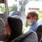 Wir fahren mit dem Postbus nach Steinbach