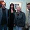 Peter Pauswek (Autor und Musiker), Angela Forro, Anna Eisenrauch (Frau Vizebürgermeister Wels), Markus Nöttling