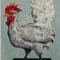 a chicken (油彩)