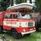 DDR IFA Feuerwehr beim NVA und Bunkermusuem im Frauenwald, Thüringen