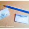 'Three Trees' Mini Card with Matching Blue Envelope - Printable PDF - $1.50