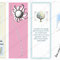 'Four Bookmarks' with smarty-pants quotes - Printable PDF - $1.50