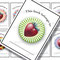 'Strawberry circles with delicious backgrounds - Book Labels  - Printable PDF- $1.50
