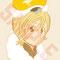 鉛筆,デジタル スイーツ擬人化企画のキャラクター。モンブラン王子。