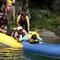 小学一年生は別枠です。石垣は登れますが、ボートは渡れません。笑