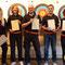 2015-07-25 - prep course day 10 - successful orange belt exam alumni