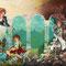 【見習いプリンセスポーリーン・ヴァインヒルの宝石姫】表紙全体