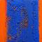 Komplementär-Kontrast I – Gouache, 25 x 25 cm