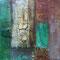Schattenwelt – Acryl/Eisen, 30 x 30 cm