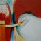 Wege – Acryl auf Malplatte mit Holzrahmen