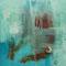 O.T. –Mixed Media auf Holzkörper, 30 x 30 cm