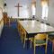 unser Bibelstundenraum und Spielraum für die Kleinkinder bei der Kinderbetreuung